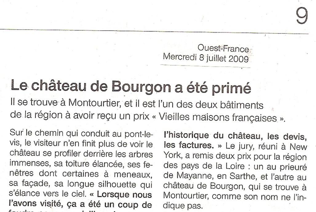 Bourgon Prix VMF