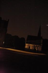Le ciel étoilé du château de Bourgon