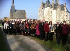 Visite de l'association Euromayenne