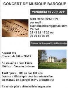 Paul Faure et Youenn Leberre en concert le 10 juin 2011
