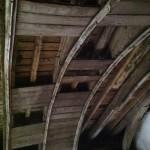 Etat de la voûte avant restauration