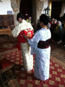 L'art de nouer la ceinture du kimono