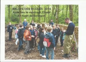 Annonce rallye 23.05.2014 Bourgon