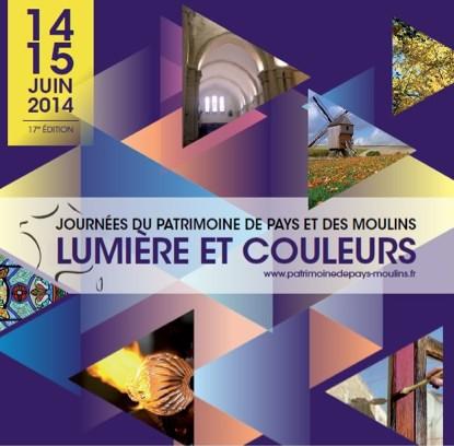 Journee du patrimoine de pays et des moulins __ lumieres et couleurs