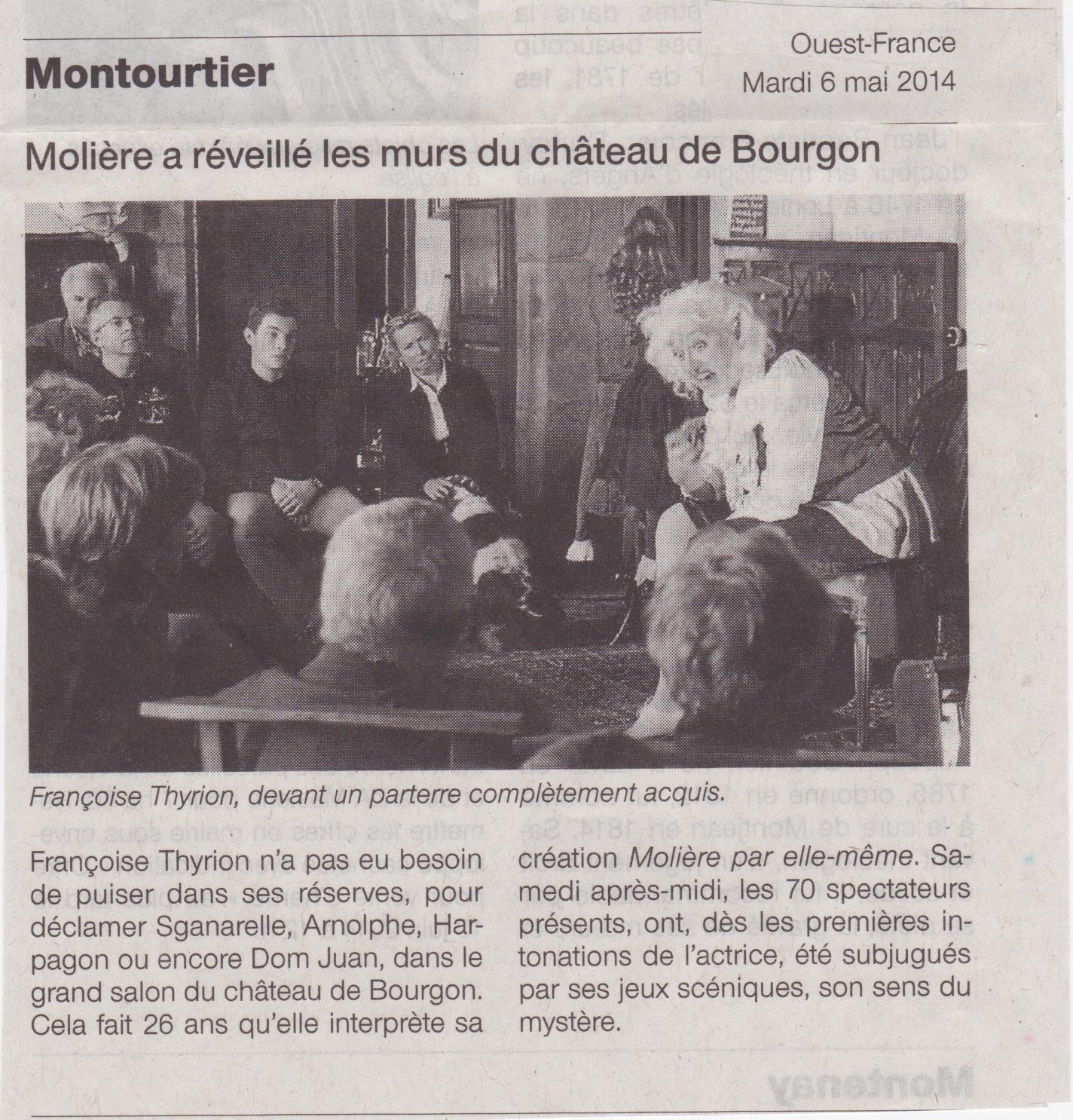 Ouest France Molière
