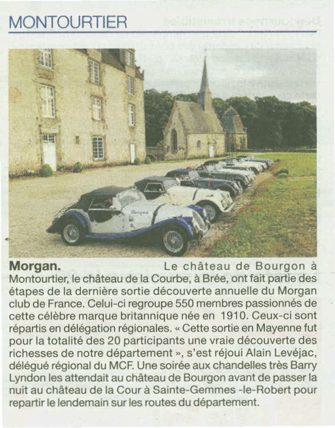 CDLM Morgan club