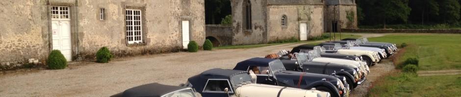 Morgans au chateau de Bourgon