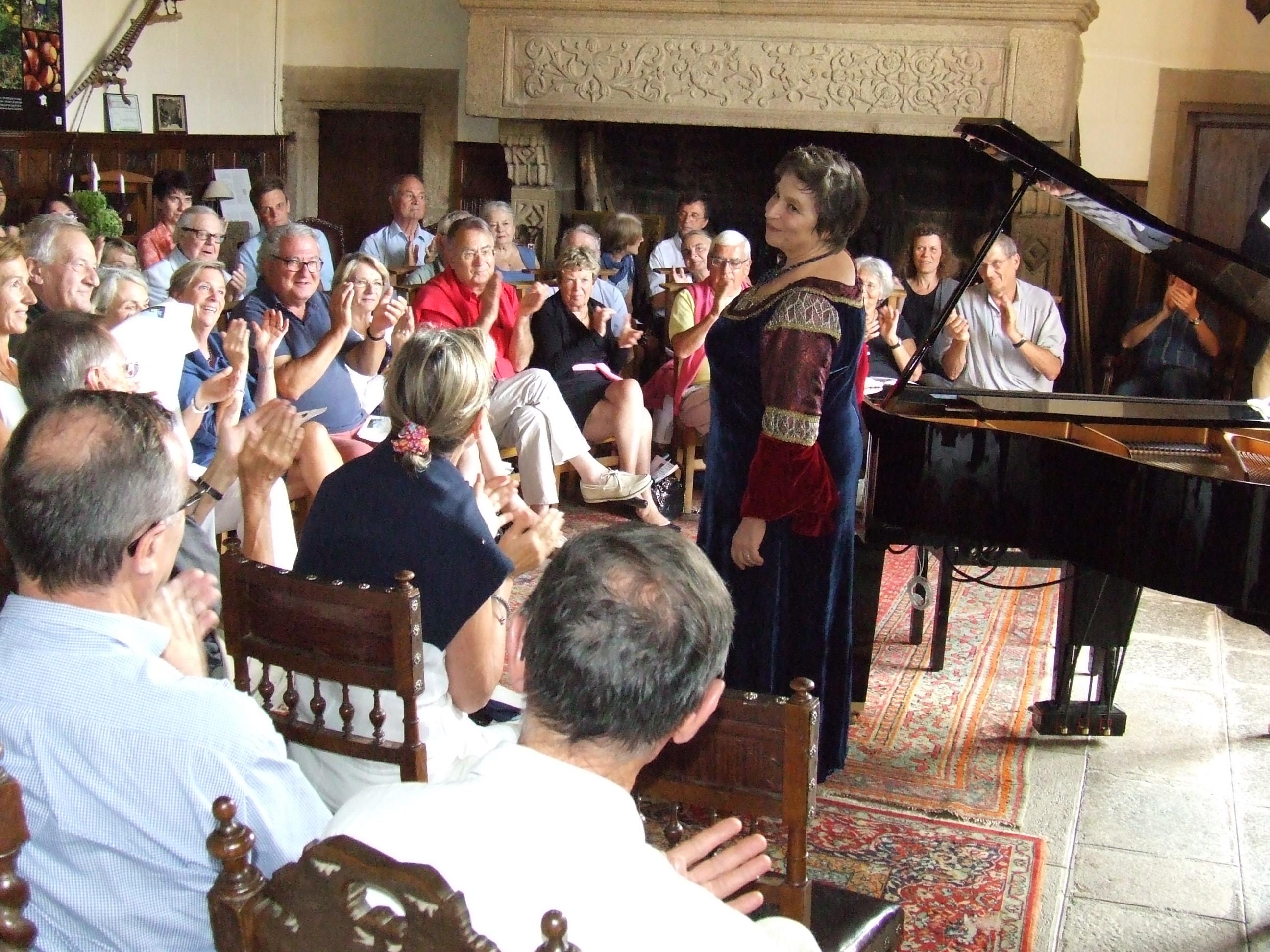 Gabriella Torma en concert