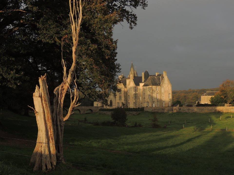 Bourgon chateau au lever du jour